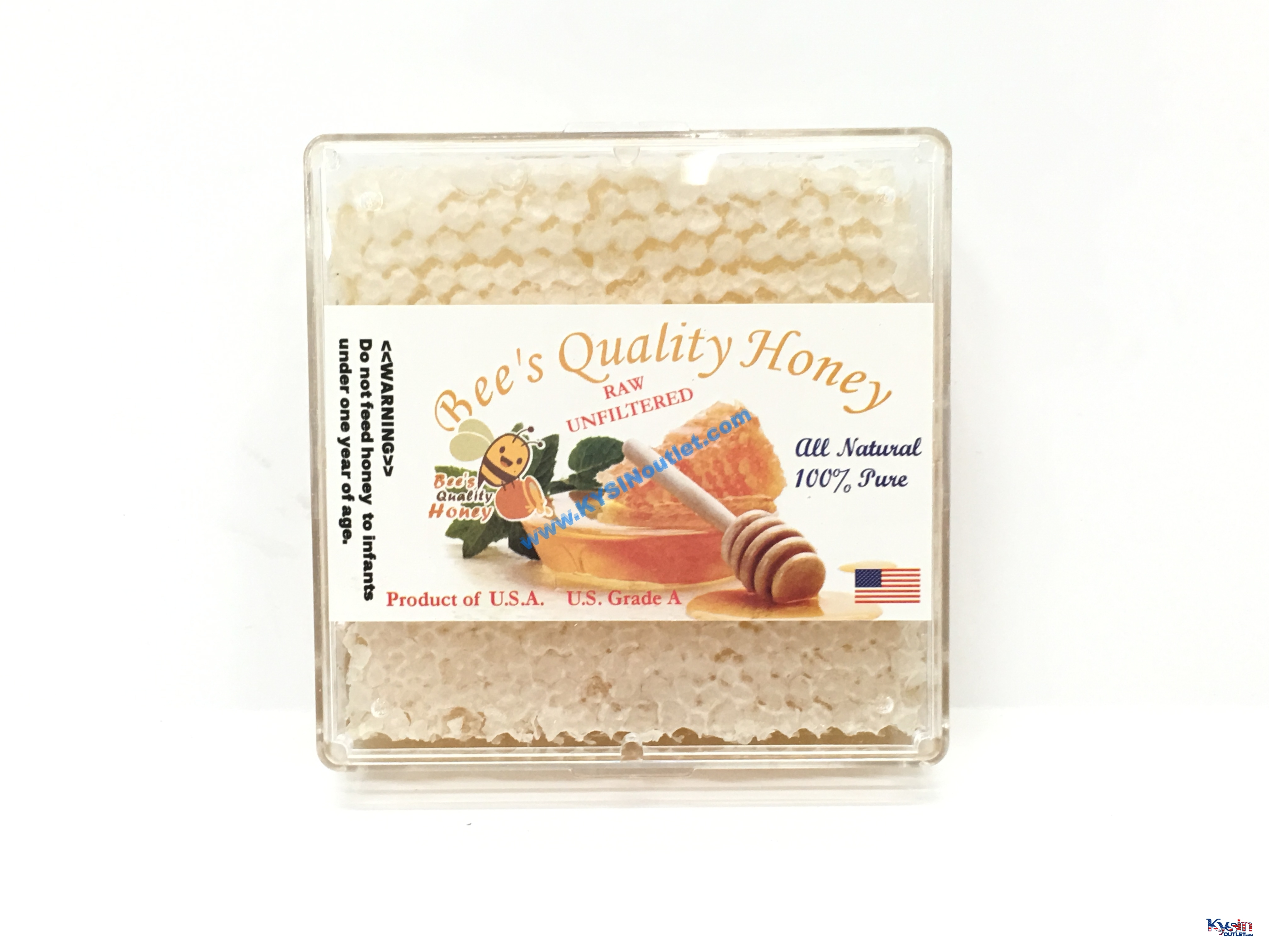 HoneyComb Square - Bee's Quality Honey